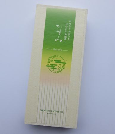 Kasumi (Gossamer) Low Smoke Japanese Incense | Box of 150 Sticks by Shoyeido