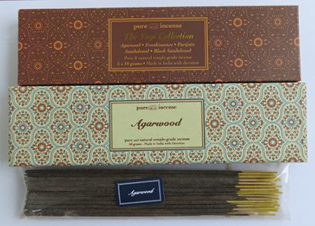 More Agarwood options from Pure Incense
