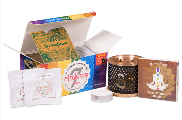 Aromafume Incense Bricks and Diffusers sold by Vectis Karma Online Incense Shop