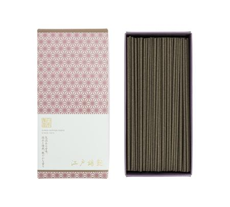 Japanese Incense | Edonishiki Tsuya | 220 Stick box | Light Smoke Fragrance of Edo Japan