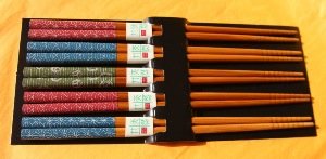 Chopsticks | 5 pair pack | Kyoto style | Japanese
