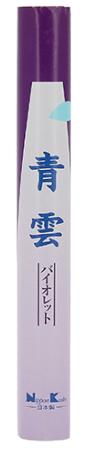 Japanese Incense | Nippon Kodo | Seiun Violet Sumire | 50 Stick Roll | Less Smoke