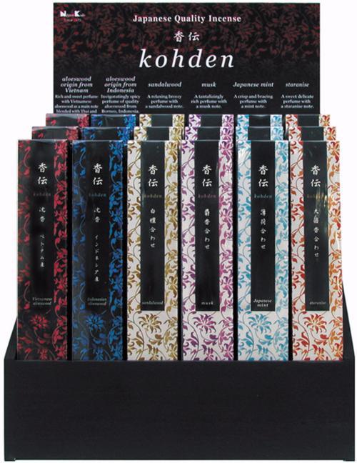 Kohden Japanese Incense Sticks | Nippon Kodo | sold by Vectis Karma