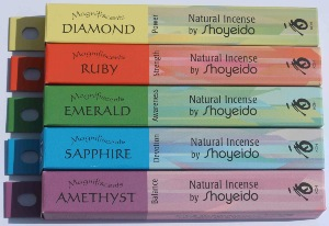 Shoyeido Japanese Incense - Magnifiscents Jewel range