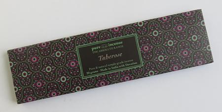 Tuberose Indian Incense | Pure Incense Absolute | 20 gram pack