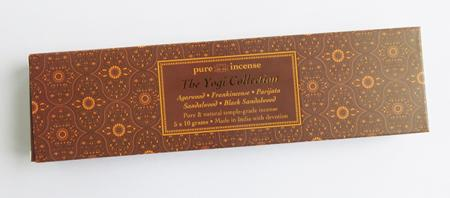 Yogi Collection Indian Incense | Pure Incense Absolute | 50 gram Box