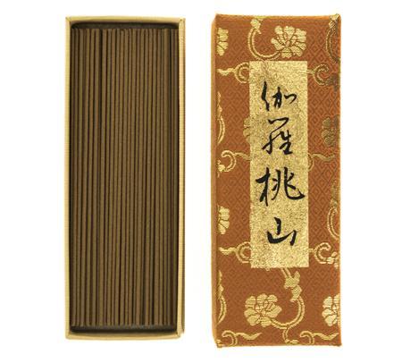 Kyara Momoyama Premium Aloeswood | Japanese Incense by Nippon Kodo | 125 sticks in a special box