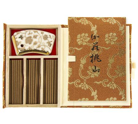 Kyara Momoyama Premium Aloeswood | Japanese Incense by Nippon Kodo | 36 sticks in a special box