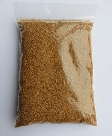 200g bag of Orange Sand used to fill incense bowls