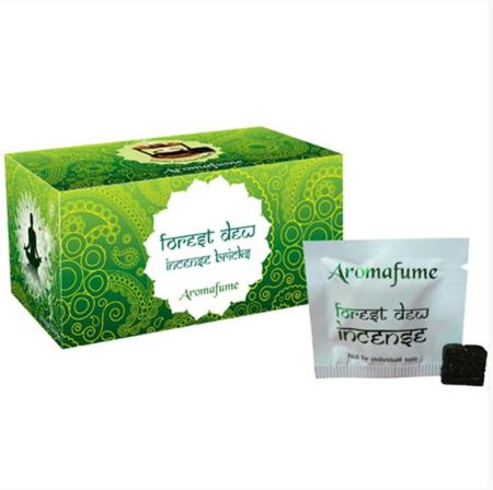 Aromafume Incense Bricks | Forest Dew fragrance | 20 brick pack