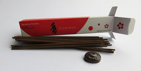 Japanese Incense Sticks | Baieido Imagine series | Cinnamon | 40 Sticks