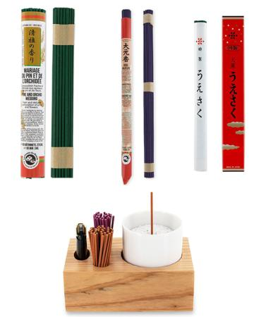 New Japanese Incense & Bowls to choose from