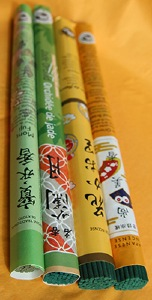Les Encens du Monde - Japanese Incense long roll range