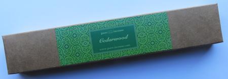 Cedarwood Indian Incense | Pure Incense Absolute | 50 gram Box