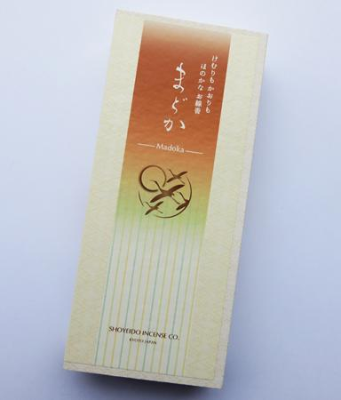 Madoka (Chiffon) Low Smoke Japanese Incense | Box of 150 Sticks by Shoyeido