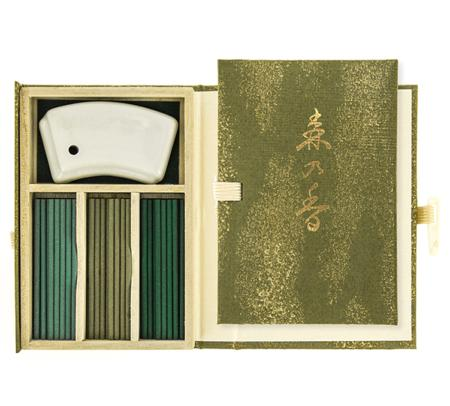 Mori no Kaori | Forest Fragrance | Japanese Incense by Nippon Kodo | 60 sticks in a special box