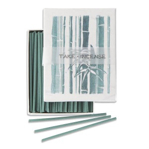 Japanese Incense | Hanga - Bamboo | 90 Stick Art box by Kousaido