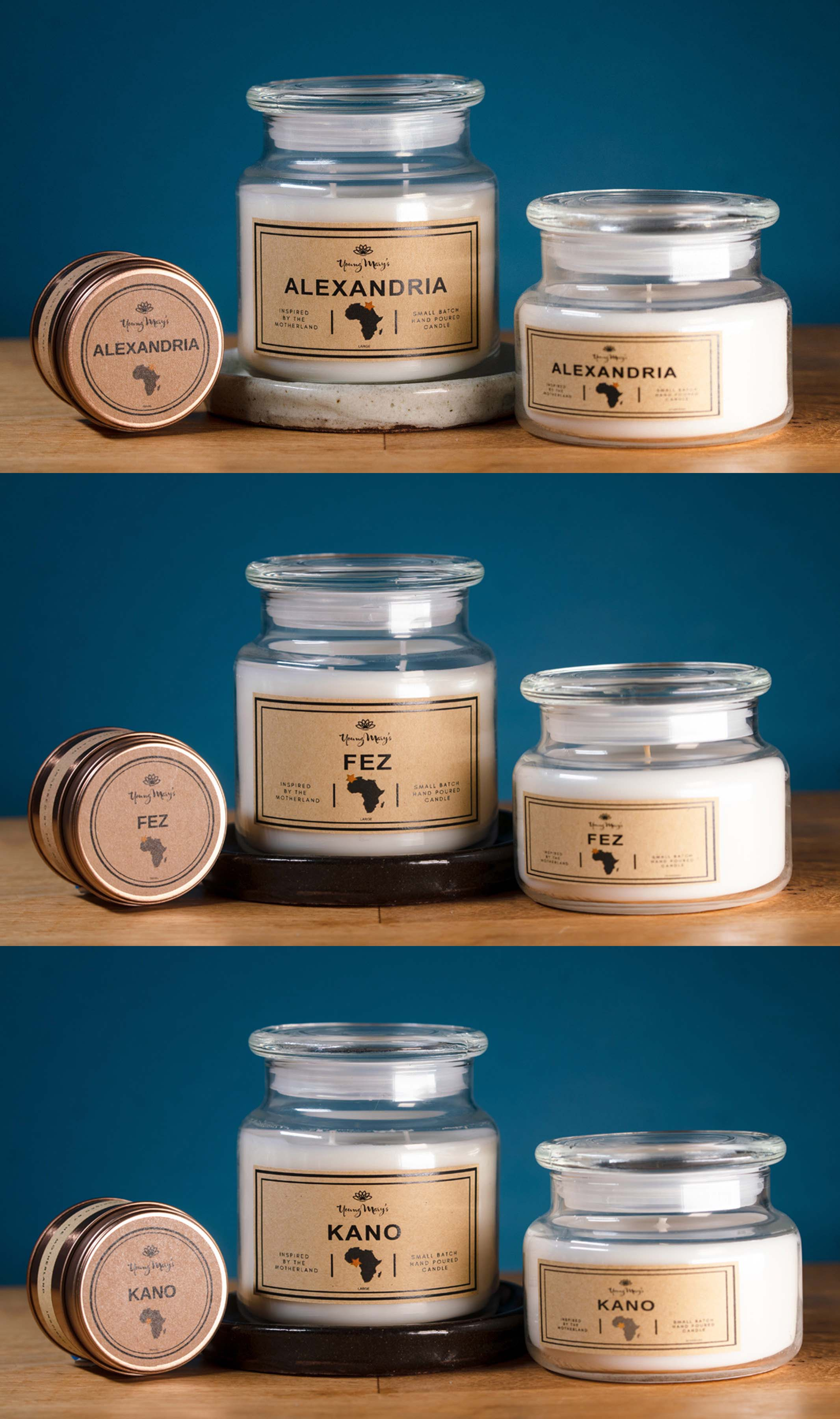 High-Quality Scented Candles | African and Botanical fragrances | Vectis Karma Online Incense Shop