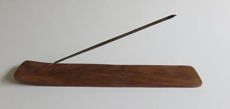 Wooden Incense stick ash catcher (Extra Long) | Indian Rosewood