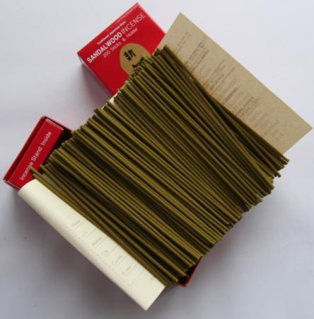 Morning Star Sandalwood Incense | Box of 200 Sticks by Nippon Kodo