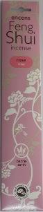 Feng Shui Incense (Chinese)   Les Encens du Monde   Rose (Earth)   20 Sticks