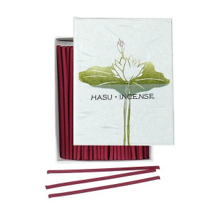 Japanese Incense | Hanga - Lotus | 90 Stick Art box by Kousaido