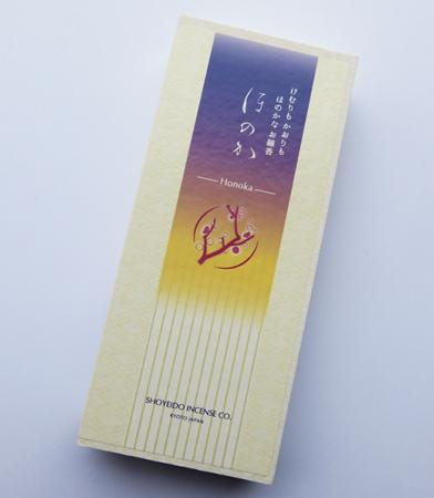 Honoka (Silhouette) Low Smoke Japanese Incense | Box of 150 Sticks by Shoyeido