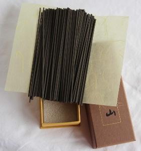 Japanese Incense Sticks | Nippon Kodo | Jinkoh Juzan (Aloeswood) | 150 Sticks boxed