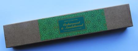 Cedarwood & Sandalwood Indian Incense | Pure Incense Absolute | 50 gram Box