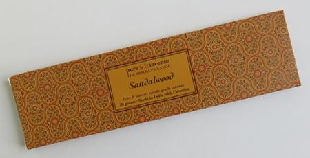 Sandalwood Indian Incense | Pure Incense Absolute | 20 gram pack