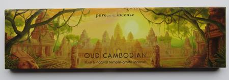Oud Cambodian Agarwood Indian Incense | Pure Incense Connoisseur & Vintage | 20 gram pack