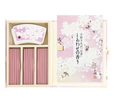 Shiawase no Kaori | Fragrance of Happiness | Japanese Incense Sticks | 36 sticks in a special box