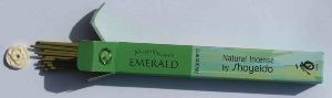 Shoyeido Emerald (Awareness) | Magnifiscents Japanese Incense | 30 Sticks