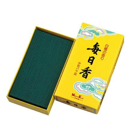 New Mainichikoh Sandalwood Incense | Box of 360 Sticks by Nippon Kodo