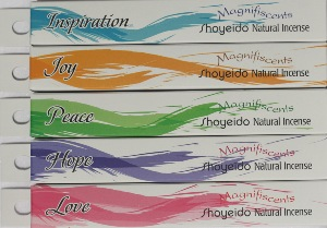 Shoyeido Japanese Incense - Magnifiscents Angelic range