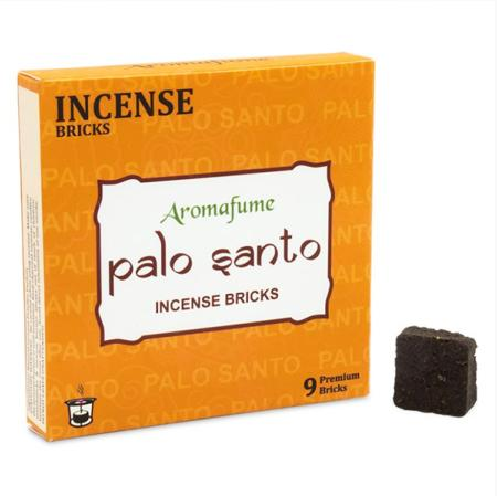 Aromafume Incense Bricks | Palo Santo fragrance | 9 brick pack
