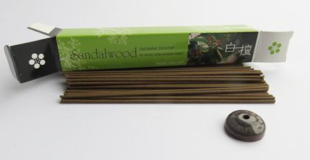 Japanese Incense Sticks | Baieido Imagine series | Sandalwood | 40 Sticks