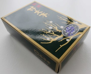 Japanese Incense Sticks | Baieido | Tokusen (Excellent) Kobunboku | 480 Sticks boxed