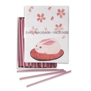Japanese Incense | Hanga - Cherry Blossom | 90 Stick Art box by Kousaido
