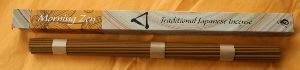 Japanese Incense   Shoyeido   Zen Morning   Long Stick Incense