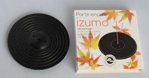 Incense Burner | Izumo Black | Natural Stone