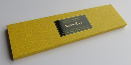 Yellow Rose Indian Incense | Pure Incense Absolute | 20 gram pack