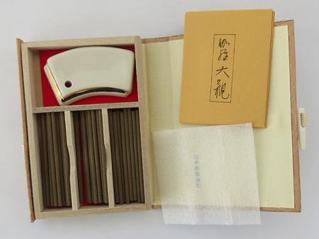 Kyara Taikan Premium Aloeswood | Japanese Incense by Nippon Kodo | 45 sticks in a special box