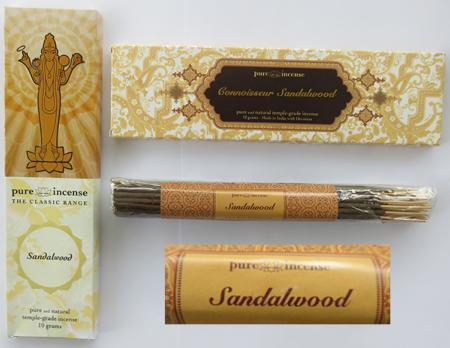 More Sandalwood Incense Sticks from Pure Incense now in stock