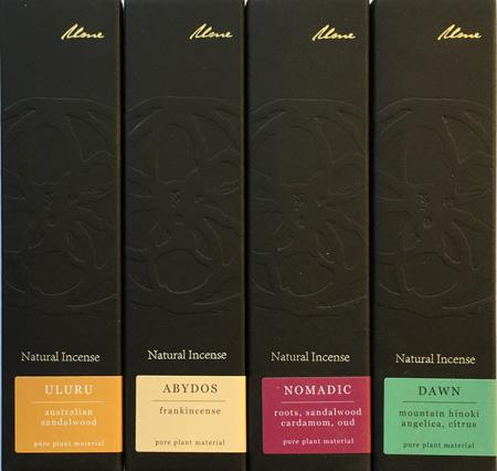 Ume Natural Incense Collection - updated range with new fragrances