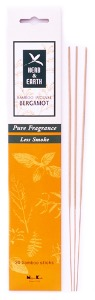 Bamboo Incense Sticks | Herb & Earth | Bergamot | by Nippon Kodo
