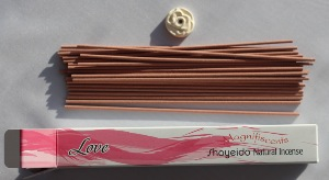 Shoyeido Love | Magnifiscents Angelic Japanese Incense | 30 Sticks