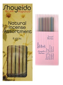 Shoyeido Japanese Incense - Sample pack example