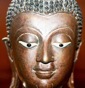 Greeting Card | Buddhist Themed | Bronze Buddha | #5 of 20