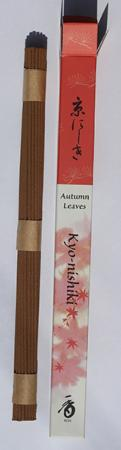 Autumn Leaves or Kyo-nishiki Japanese Incense | Box of 35 Sticks by Shoyeido